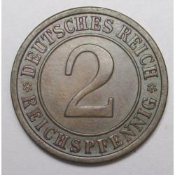 2 reichspfennig 1925 A