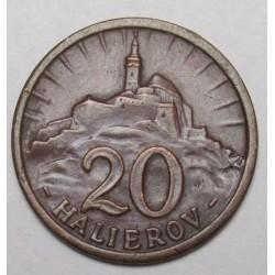 20 halierov 1940