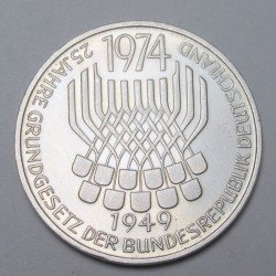 5 mark 1974 F - 25th anniversary of The Federal Constitution