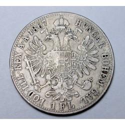 1 florin 1867 B