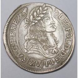 Leopold I. 15 kreuzer 1680 KB