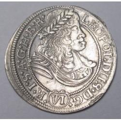 Leopold I. 6 kreuzer 1674 Breslau