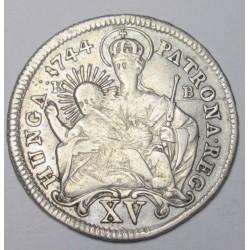 Maria Theresia 15 kreuzer 1744 KB