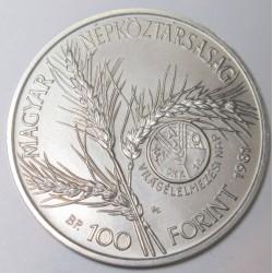100 forint 1981 - FAO