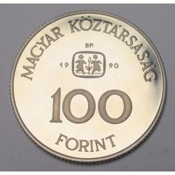 100 forint 1990 PP - S.O.S Gyermekfalu