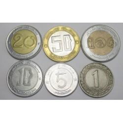 100-50-20-10-5-1 dinar set