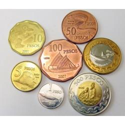 500-200-100-50-10-5-1 pesos 2007