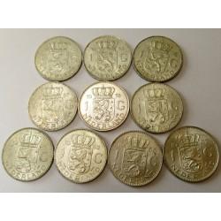 1 complet silver set 1954-1967