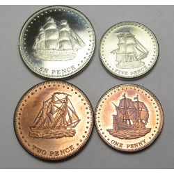 10-5-2-1 penny set 2008