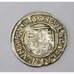 Vladislaus II. denar 1508 KH