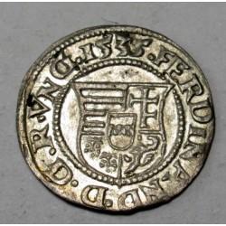 Ferdinand I. denar 1535 KB