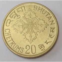 20 chetrums 1974 - FAO