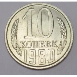 10 kopeks 1980