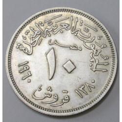 10 piastres 1960