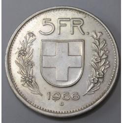 5 franken 1966 B