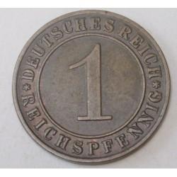 1 reichspfennig 1935 D