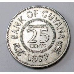 25 cents 1977