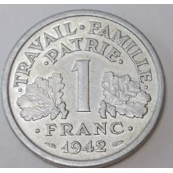 1 franc 1942