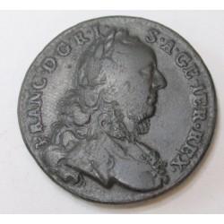 Francis I 1 kreuzer 1762 W
