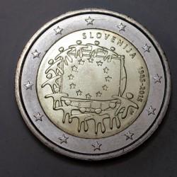 2 euro 2015 - 30 éves az EU zászlaja