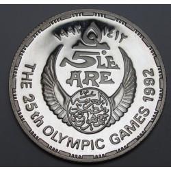 5 pounds 1992 PP - Barcelonai olimpia kézilabda