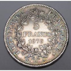 5 francs 1876