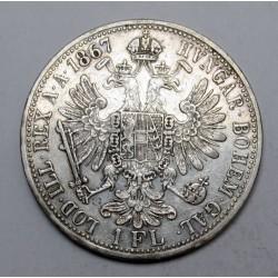 1 florin 1867 A