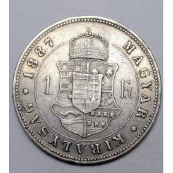 1 forint 1887