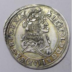 I. Lipót XV krajcár 1685 KB