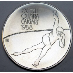 500 forint 1986 - Winter Olympics Calagary