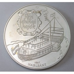 1000 forint 1995 - Old boats Hableány