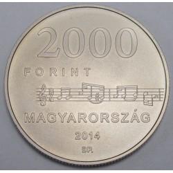 2000 forint 2014 - Egressy Béni