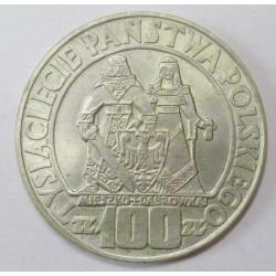 100 zlotych 1966 - Polish Millenium