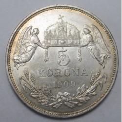 5 korona 1909
