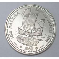 100 escudos 1989 - Exploration of Madeira