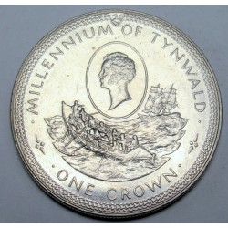 1 crown 1979 - 1000th anniversary of the Parliament