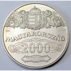 2000 forint 2014 - 90th anniversary of the National Bank