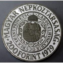 200 forint 1979 PP Piedfort - Bethlen Gábor