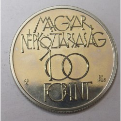 100 forint 1985 - Culthural Forum