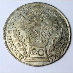 Maria Theresia 20 kreuzer 1764 Vienna