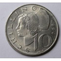 10 schilling 1990