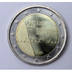 2 euro 2016 - 25th Anniversary of Independence
