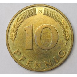 10 pfennig 1995 G