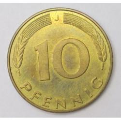 10 pfennig 1991 J