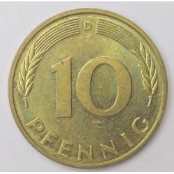 10 pfennig 1994 D