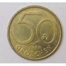 50 groschen 1990