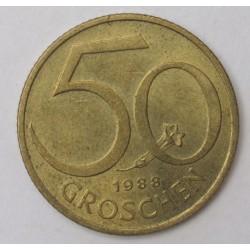 50 groschen 1988