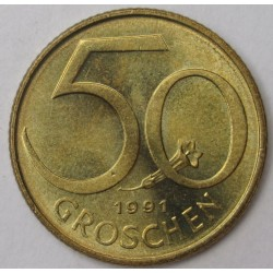 50 groschen 1991