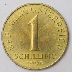 1 schilling 1990