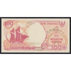 100 rupiah 1999